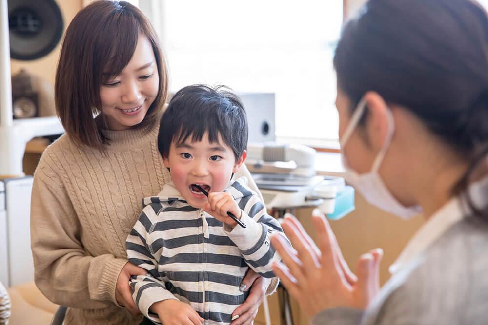 お口の成長と健康を考えた小児歯科治療