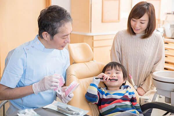 成長を考えた小児歯科、機能性のある健康な口腔内へ。